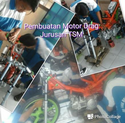 Pembuatan Motor Drag (Jurusan Teknik Sepeda Motor)