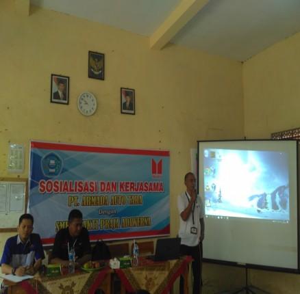 Kerja Sama dan Sosialisasi PT Armada Auto Tara