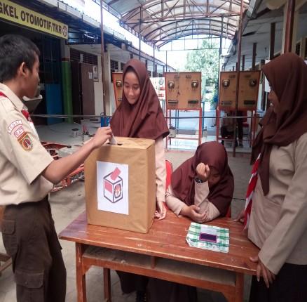 Pemilihan Ketua Osis 2018/2019
