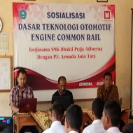 SOSIALISASI DASAR TEKNOLOGI OTOMOTIF ENGINE COMMON RAIL